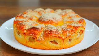 Мягкий как ПУХ яблочный пирог! Очень вкусный пирог с яблоками