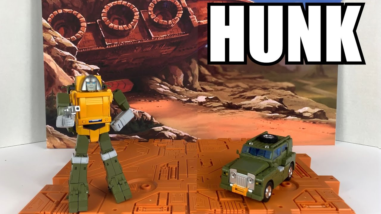 Fans Toys FT-42 Hunk (Masterpiece Brawn) Unboxing and Review By Enewtabie