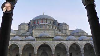 Стамбул. Мечеть Сулеймание, Египетский базар, вкусная уличная еда, кулинарный  хит - бублик Симит.