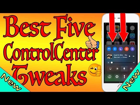 Must Have iOS 10 Tweaks Control Center Yalu Jailbreak 2017