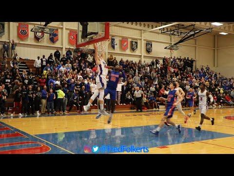 Highlights Glenbard Souths Pack the Place vs Fenton High School Boys Basketball. Fans, Cheer, Band..