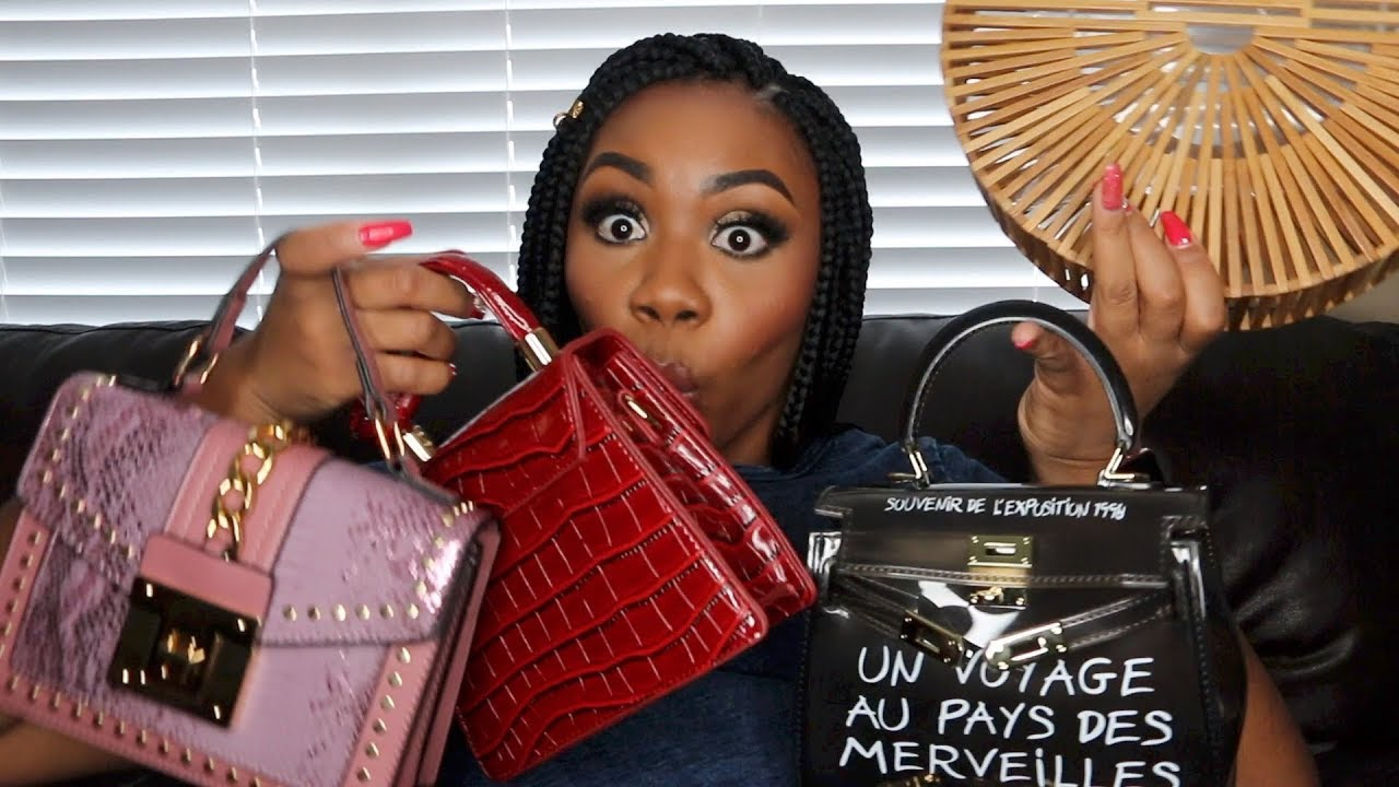 AliExpress Haul! Purse Edition! (Designer Dupes)!! | Ask Whitney