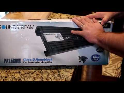 Soundstream PA1.5000D Amp Dyno and Unboxing