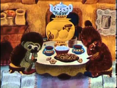 Мультфильм про медведя и елку