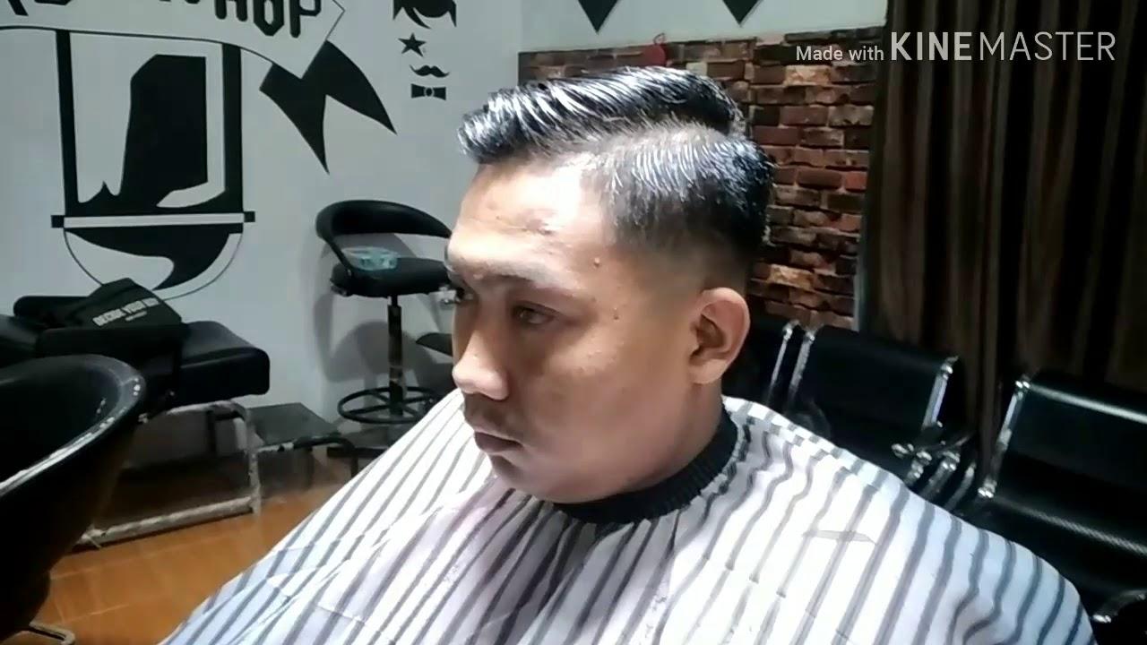 Model rambut skin fade undercut.Mr.fad Barbershop - YouTube