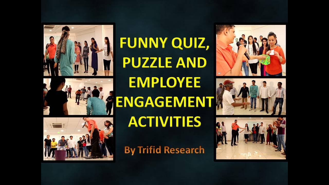 Funny Puzzle and Quiz | Team Building | Employee ...