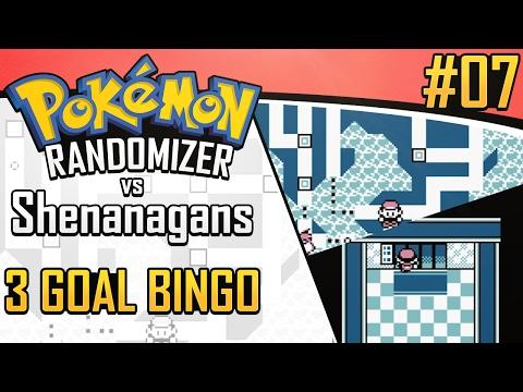 Pokemon Randomizer 3 Goal Bingo vs Shenanagans #7