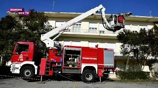 Ασκηση εκκένωσης νοσοκομείου Κιλκίς μετά από σεισμό-Eidisis.gr webTV