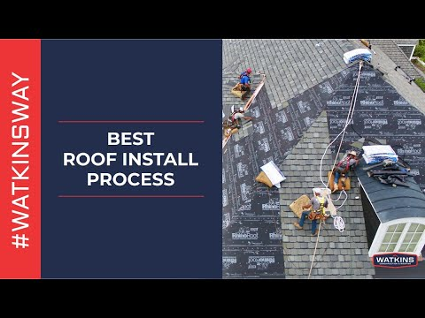 Best Roof Install Process - Watkins Construction And Roofing