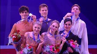 Церемония награждения. Танцы. Rostelecom Cup. Гран-при по фигурному катанию 2019/20