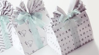 Origami Gift Bag Tutorial 🛍 DIY 🛍