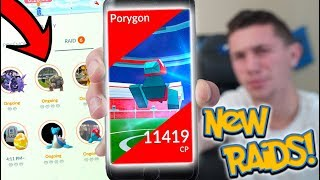 NEW RAID BOSS UPDATE IN POKÉMON GO! FIRST EVER RAID ROTATION!