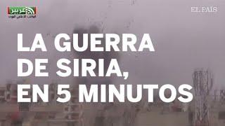 GUERRA DE SIRIA | Así ha sido el conflicto bélico desde sus inicios en la primavera árabe | Inter...