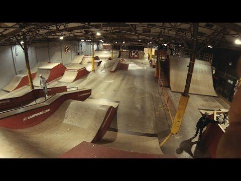 Rampworx Skatepark | Inline Foam Pit FPV