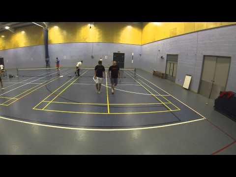 Luke Mayes & Nick Bohringer vs Gary Lowe & Chris Bint BATTLE touchtennis