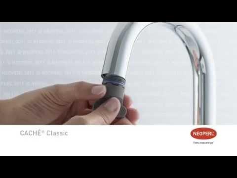 Neoperl Caché, il micro aeratore per rubinetti moderni - YouTube