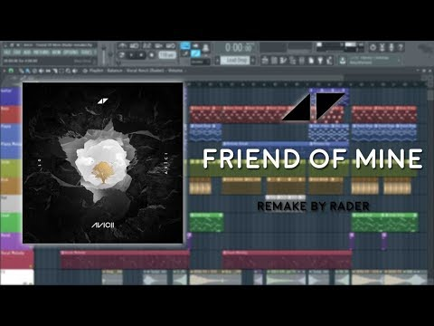Avicii - Friend Of Mine 2017 [Fl Studio Remake] FLP FREE