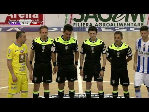 Pescara C5 - Napoli 3-4 (integrale)