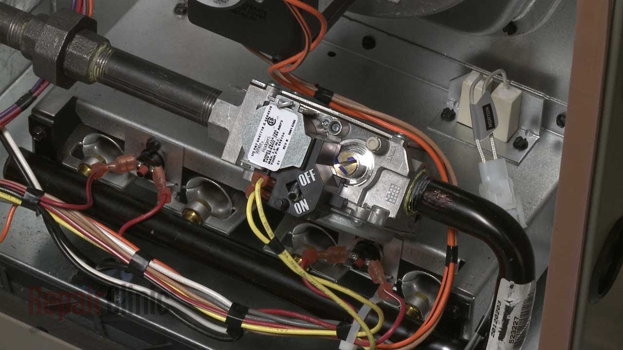 Rheem Wiring Diagram Gas Furnace York Furnace Gas Valve Assembly Replacement S1