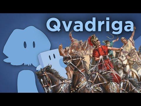 Qvadriga - Tactical Chariot Racing - James Recommends
