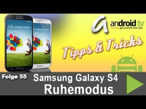 [GER] Samsung Galaxy S4 Ruhemodus - Tipps & Tricks [55]