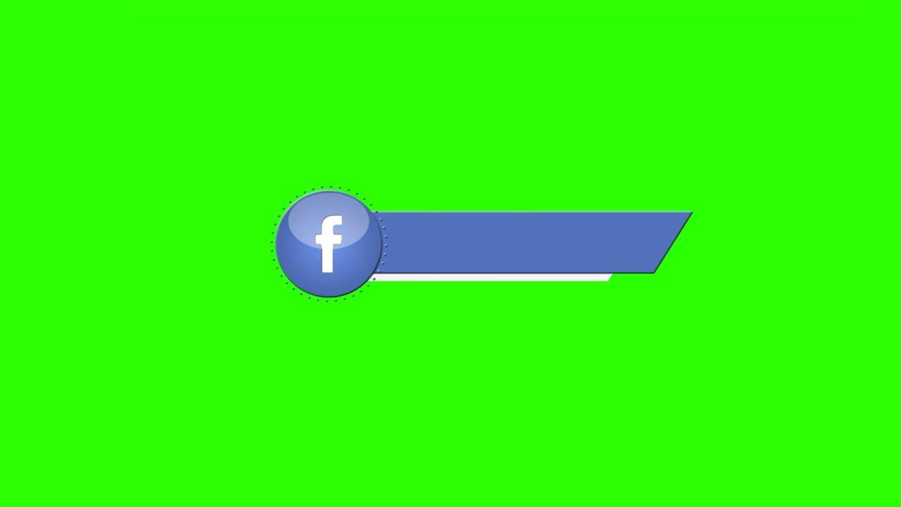 Barras de Redes Sociais #3 - Social Media Lower Thirds #3 [Fundo Verde - Green Screen]