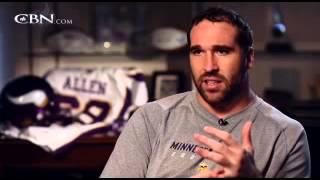 NFL Award Winner Talks Faith and Football - CBN.com
