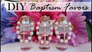 DIY | Baptism Favors