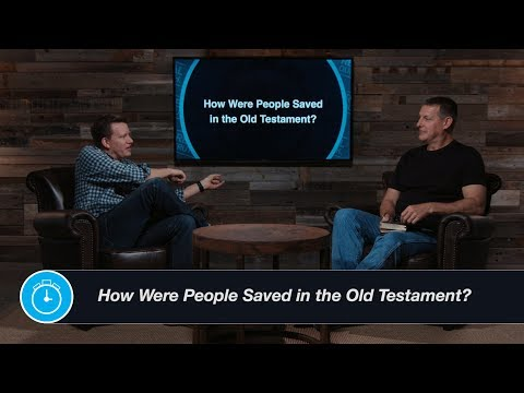 How Were People Saved in the Old Testament?