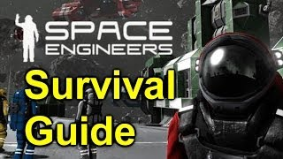 Space Engineers - Surviving Your First Day