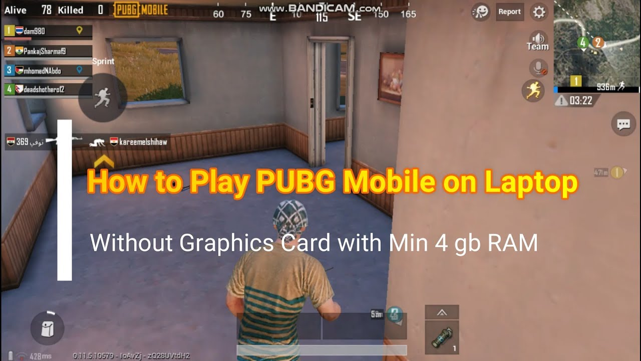 How To Play Pubg Mobile On Pc Without Graphics Card   Pubg
