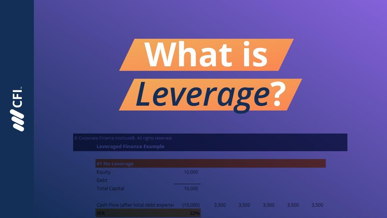 Leveraged Finance Youtube