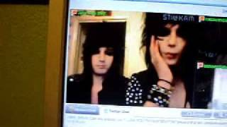Andy Six and Jake Pitts on Stickam 9-5-10 Pt.12