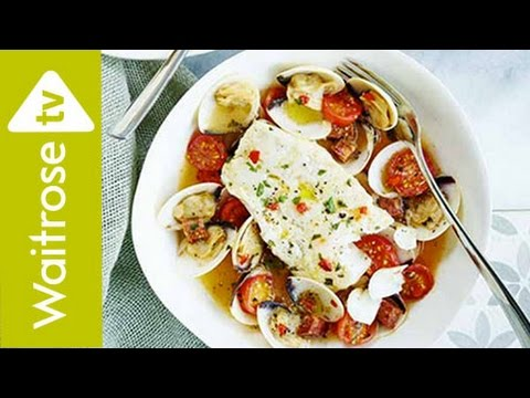 Cod with Clams and Cherry Tomatoes | Waitrose
