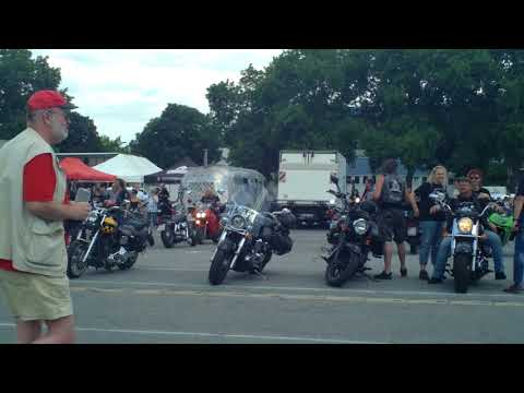 Biker-Demo Mannheim 2017