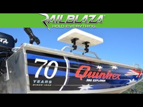 Fit Out Quintrex Boat For Fishing With RAILBLAZA Rod Holder And More