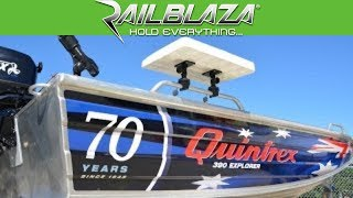 Fit out your Quintrex aluminium boat with RAILBLAZA mounts & accessories