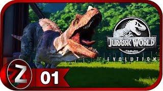 Jurassic World Evolution Прохождение на русском 1 - Добро пожаловать в парк FullHD PC