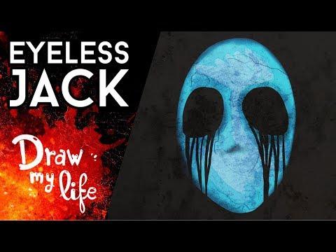 La SANGRIENTA HISTORIA de EYELESS JACK - Creepy Draw