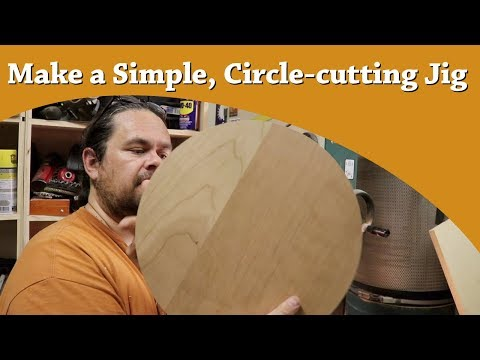 How to Make a Simple, DIY, Bandsaw Circle-cutting Jig