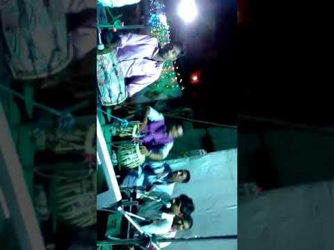 manish raja with Ma vindhyawasini musical group stage show 2017 Surat Gujarat
