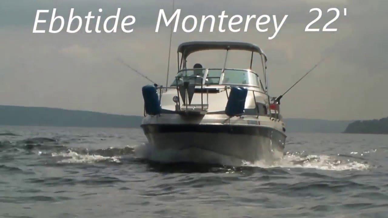 Про катер Ebbtide Monterey 22'