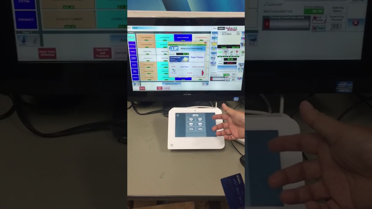 Clover Mini Integrated With Nails 123 System English