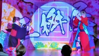 奥道後温泉に入湯後、同劇場で公演していた、三枡屋の演劇と演舞を 鑑賞した映像です。演劇は楽しく、踊りはとても美しいものでした。
