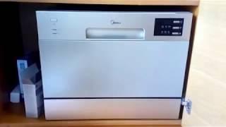 видео Компактные посудомоечные машины