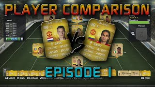 Fifa 15 - Player Comparison - RvP vs Falcao: The Better Man U Striker Thumbnail