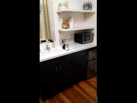 Minimalist: Micro Studio Apartment Video Tour 150 sq ft