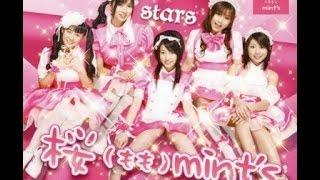 桜(もも)mint's 2ndシングルCD「stars」(2009年9月13日リリース)。第1期...