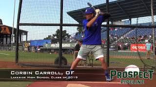 Corbin Carroll Prospect Video, OF, Lakeside High School Class of 2019