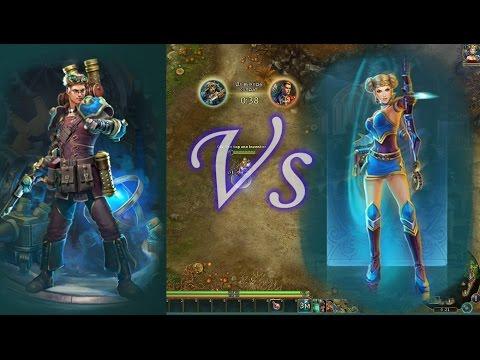 видео: Изобретатель (Инж) в силу vs Амазонка (Лучница) 36x36 prime world